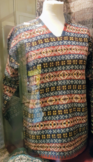 Fair Isle sweater from Shetland Textile Museum