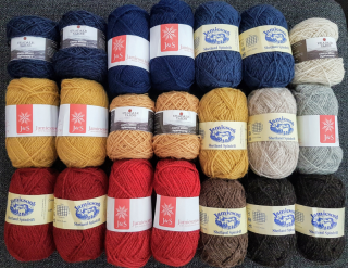 Yarn from Uradale, Jamieson's and Jamieson & Smith