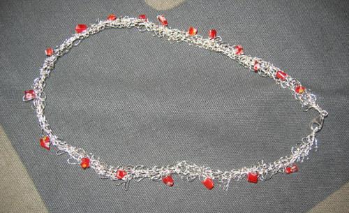 Silverhalsband