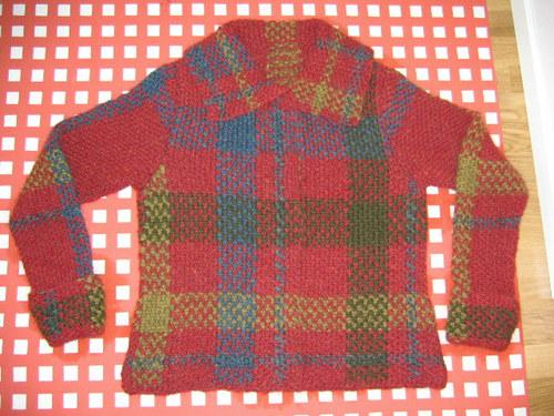 Tartan jacket by Teva Durham