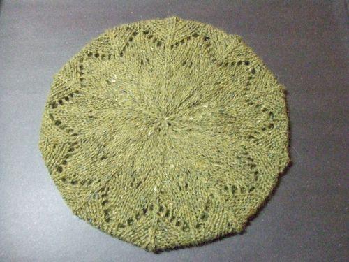 Grace lace beret