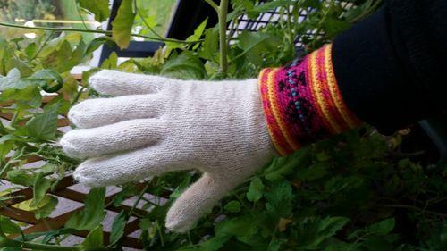 Fingervantar med inspiration från Muhu